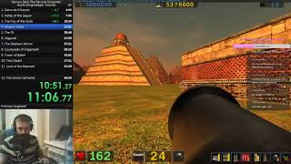Serious Sam:The Second Encounter SpeedRun Any% [WORLD RECORD] 47:34 RTA/46:07 IGT TOURIST DIFFICULTY