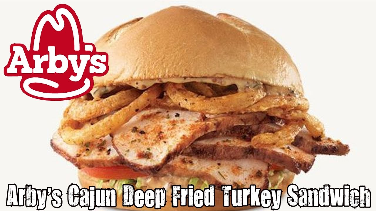 Arby's Cajun Deep Fried Turkey Sandwich Review - CarBS ...