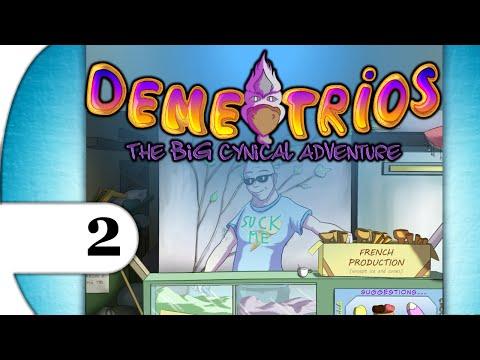 Demetrios - The BIG Cynical Adventure | walkthrough playthrough | PART 2