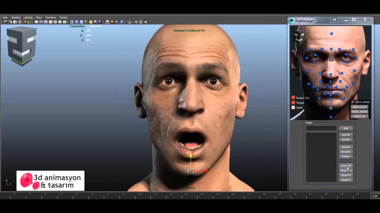 Maya 3D Animasyon - YouTube