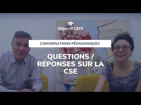Séance de questions/réponses autour de la CSE