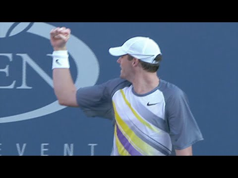 John Isner Makes His US Open Tennis Debut Back In 2007