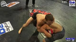 Hardrock MMA 97 Fight 3 Kyler Johnson vs Markus Davis 165 Ammy