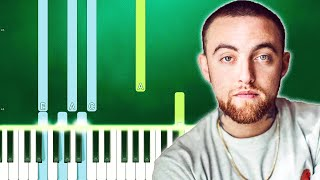 Mac Miller - Everybody (Piano Tutorial Easy) By MUSICHELP