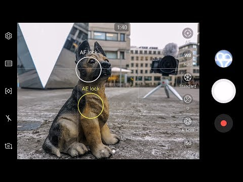 Samsung Galaxy S7 Edge - Hands-On PRO MODE TUTORIAL for MsCookie112 - Tubenoob