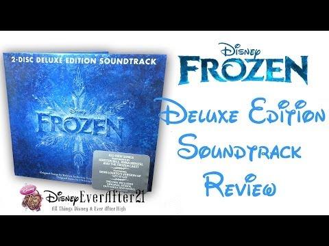 Disney Frozen 2-Disc Deluxe Edition Soundtrack Review/ Unboxing