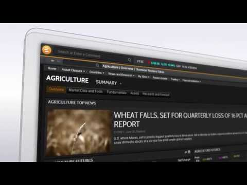 Refinitiv Eikon - agricultural commodities