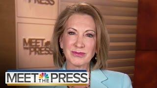 Carly Fiorina: Examining Her Record At HP | Meet The Press | NBC News