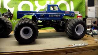 Sport Mod BigFoot Axial Monster Truck FINALLY DONE!