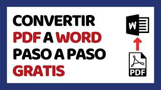 Cómo Convertir PDF a Word 2017 Sin Programas (Smallpdf)