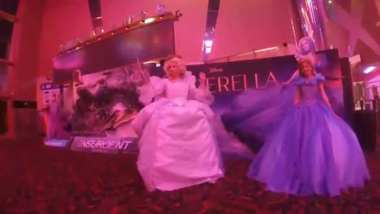 Cinderella 2015 With The Fairy Godmother Interview