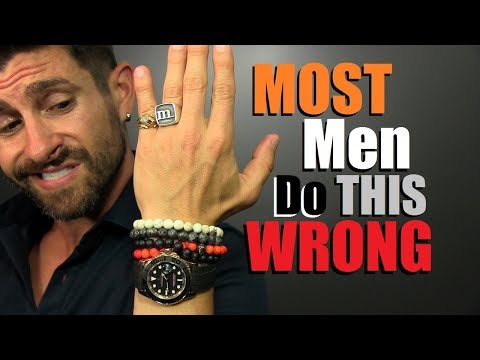 3 Style Rules MOST Men Get WRONG! Accessory Wearing Mistakes That KILL Your Style!