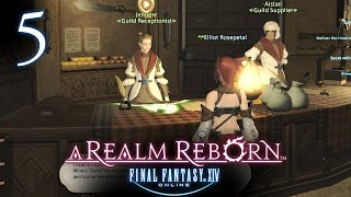 GUILD RUNNER! - Final Fantasy XIV Online Let
