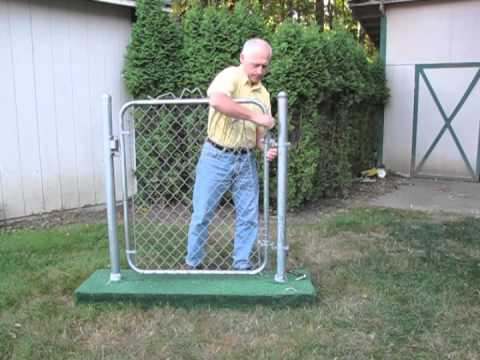 Gate Closer Simple Effective Closer For Chain Link Gates It