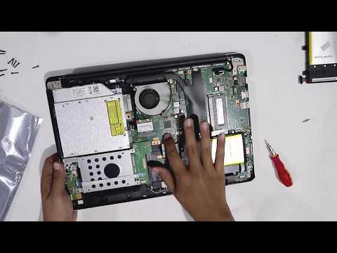 Cara Mengganti Baterai Laptop Tanam (built in battery)