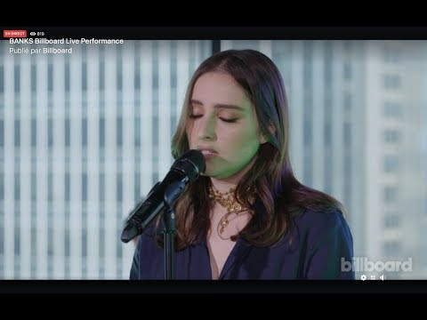 BANKS - Billboard Live Performance