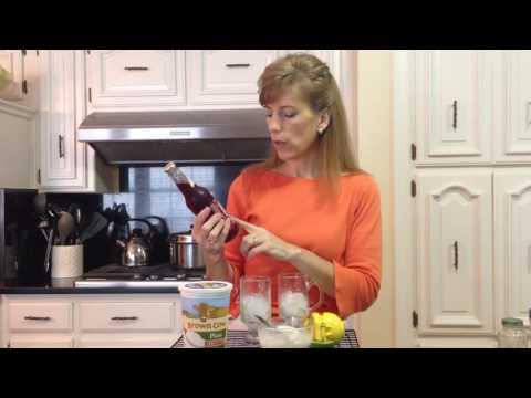 Healthy Snacks - Yogurt and Key Lime & Natural Soda