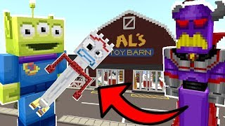 Minecraft Toy Story - Is Zurg Going To Kill Forky!? [4]
