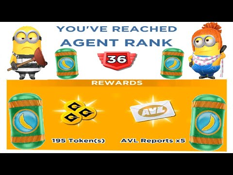 Minion Rush AGENT RANK 36 Mini Prize Pod Mk.8 Vs. Prisoner & Lucy  Gameplay Ios & Android
