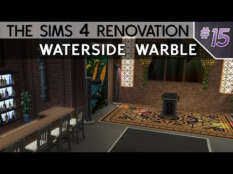 Waterside Warble | The Sims 4 Renovation #15
