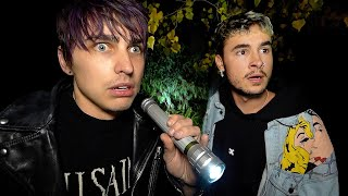 STRANDED on HAUNTED Battle Ground w/ Kian & Jc