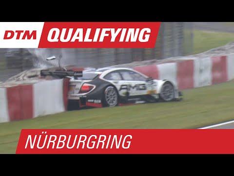 Paul di Resta Crash - DTM Nürburgring 2015