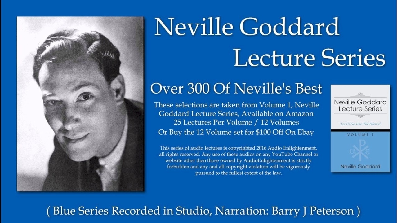 Neville Goddard Lecture Series Volume 1 Awake O Sleeper