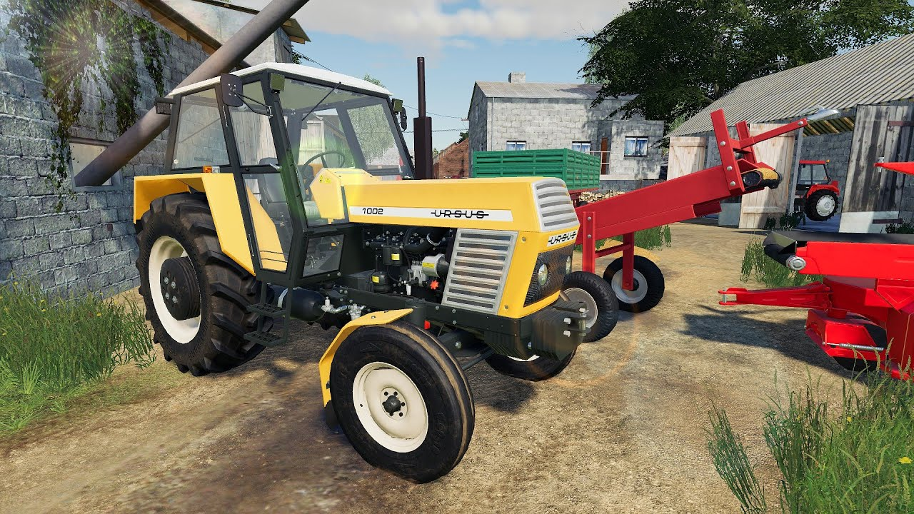 Tractor & Two Combine Harvesters Cuts Barley - We Test Reloading Belt Systems   Machines in LS19