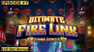 $2,000 On High Limit James Bond Slot Machine & Ultimate Fire Link Slot | Season 8 | Episode #7