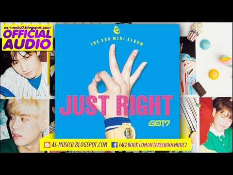 [MP3/DL]01. GOT7 - Just Right (딱 좋아) ['Just right' 3rd Mini Album]