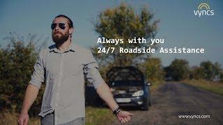 Roadside Assistance 24/7   Vyncs Car GPS Tracker
