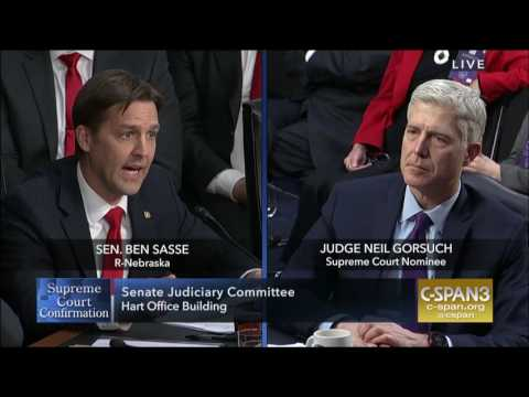 Ben Sasse: How Judges Are Like Little League Referees