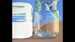 HOW TO OIL PAINT, Glass Jars Progressive