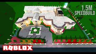 Beverly Hills Inspired Mansion SPEEDBUILD | Welcome to ROBLOX Bloxburg