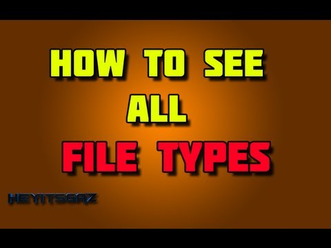 ► How To See All File Types On Windows | Easy!