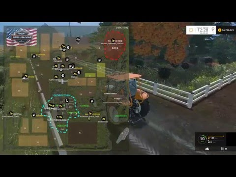 FARMING SIMULATOR 2015 NEW TEST MAP OGF USA MAP by fmarco95