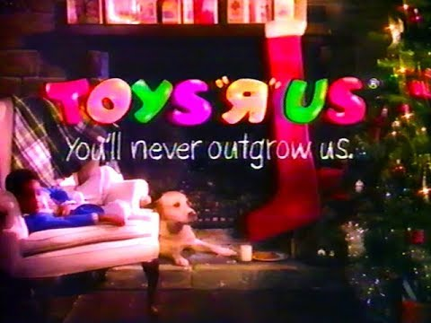 toys r us xmas commercial 1990s youtube. Black Bedroom Furniture Sets. Home Design Ideas