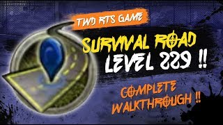 survival road walk through level 229 twd rts the walking dead road to survival