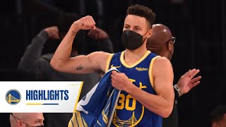 Stephen Curry Puts on a Show at Madison Square Garden | Feb. 23, 2021