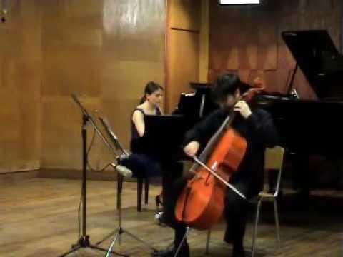 Ernst: Mahle Concertino para Cello - Davi Barreto