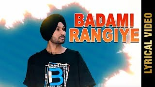 Badami Rangiye Refix Garrie Dhaliwal Free MP3 Song Download 320 Kbps