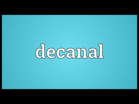 Header of decanal