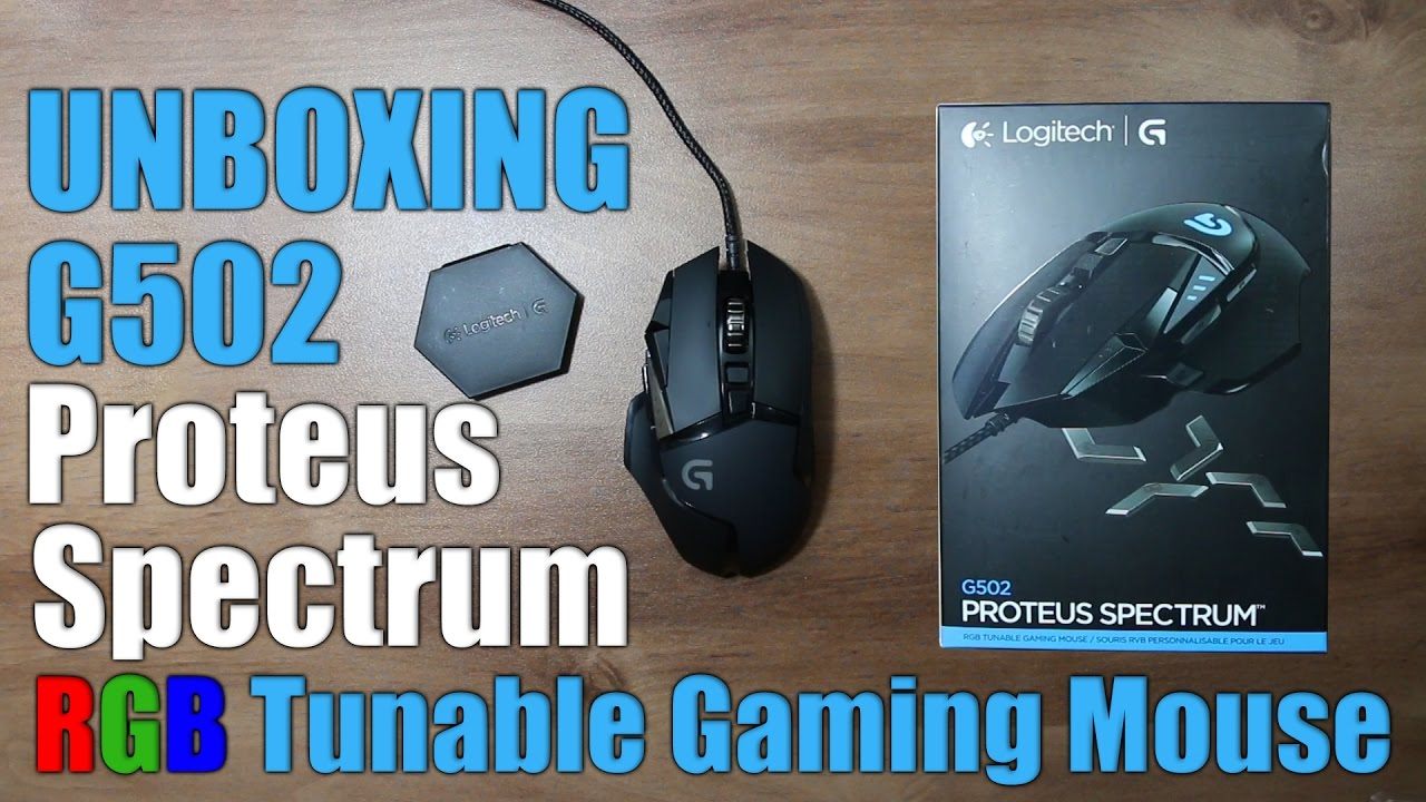 logitech g502 proteus core driver download