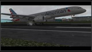 xplane 10 52ᴴᴰ   takeoff and arrival at cork airport   boeing 757 ff american airlines