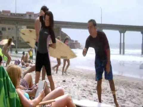 Elizabeth Reaser of Ex List surfs in EXCEED