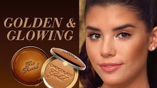 Get Golden, Glowing Skin with This Quick Bronzer Tip