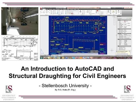 Intro to AutoCAD & Structural Draughting for Civil Engineers