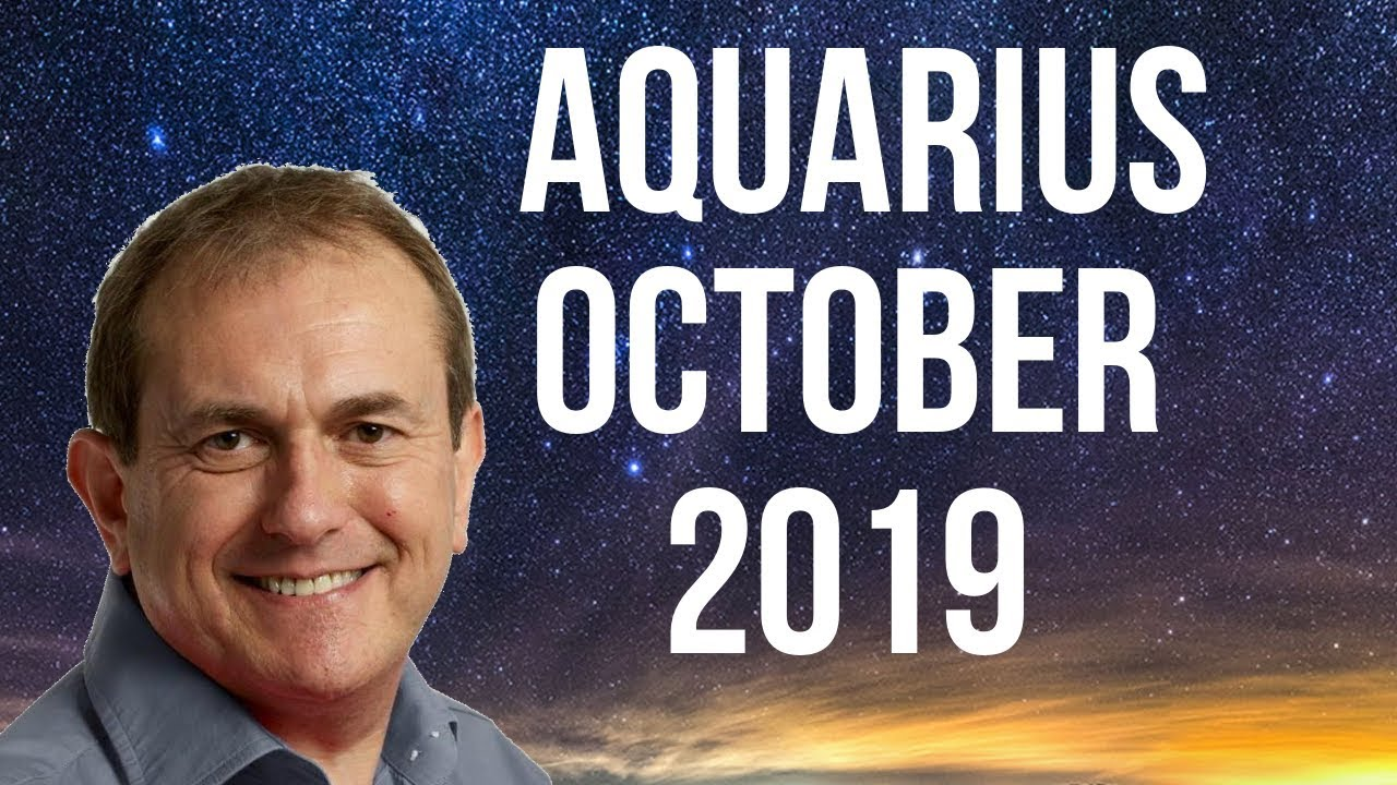 horoscop aquarius 30 october 2019