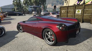 Livestream - GTA 5 - SPINDLE CAR MEET and Racing Playist PS4