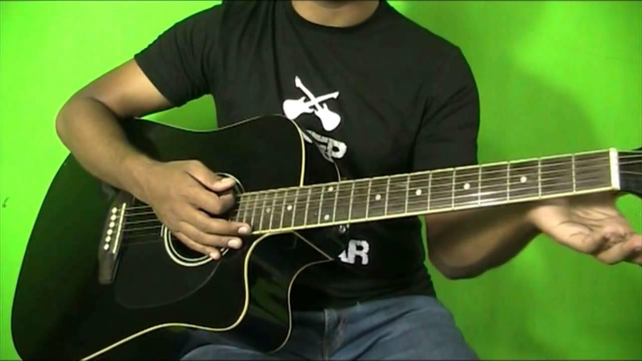 Meherbaan Hua Rab Guitar Chords Lesson Bang Bang Youtube